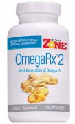 Dr. Sears Zone OmegaRx2, 120 Capsules, Fish Oil