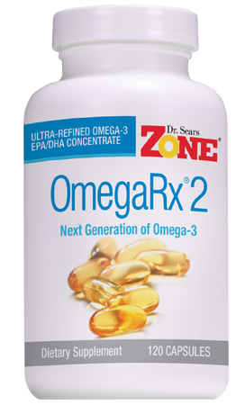 dr sears zone omegarx 2 fish oil capsules high purity