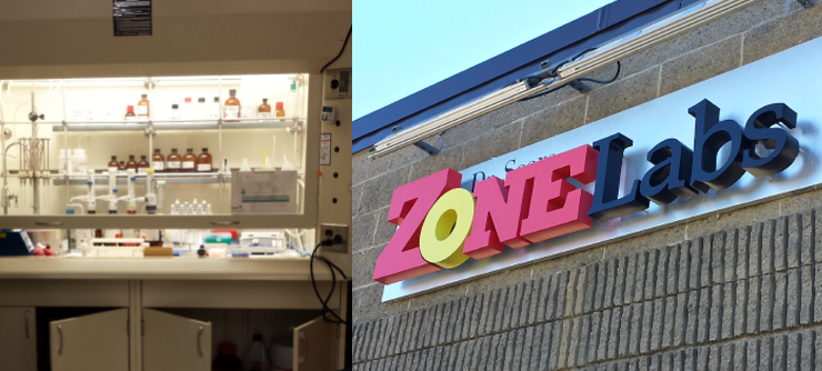 Zone Labs Signage