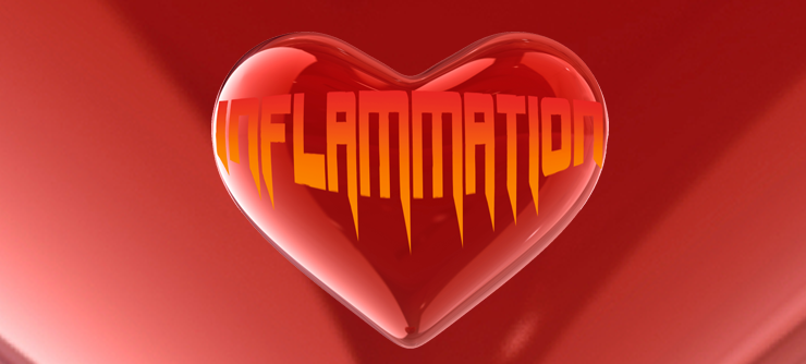 Inflammation Heart Graphic