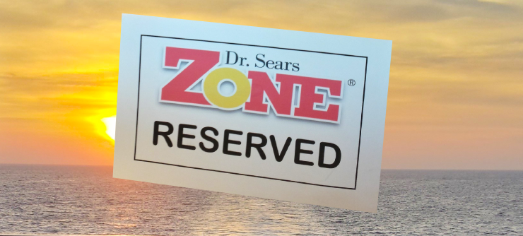 Dr. Sears Zone Reserved Sign
