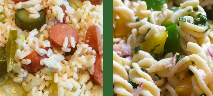Zone PastaRx Fusilli and Orzo Recipes