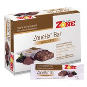 Dr. Sears ZoneRx Chocolate Bar, box of 10
