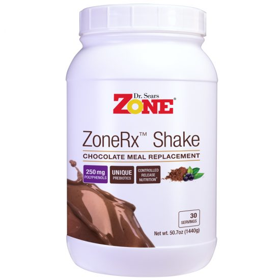 Zone Shakes Chocolate 30 Servings