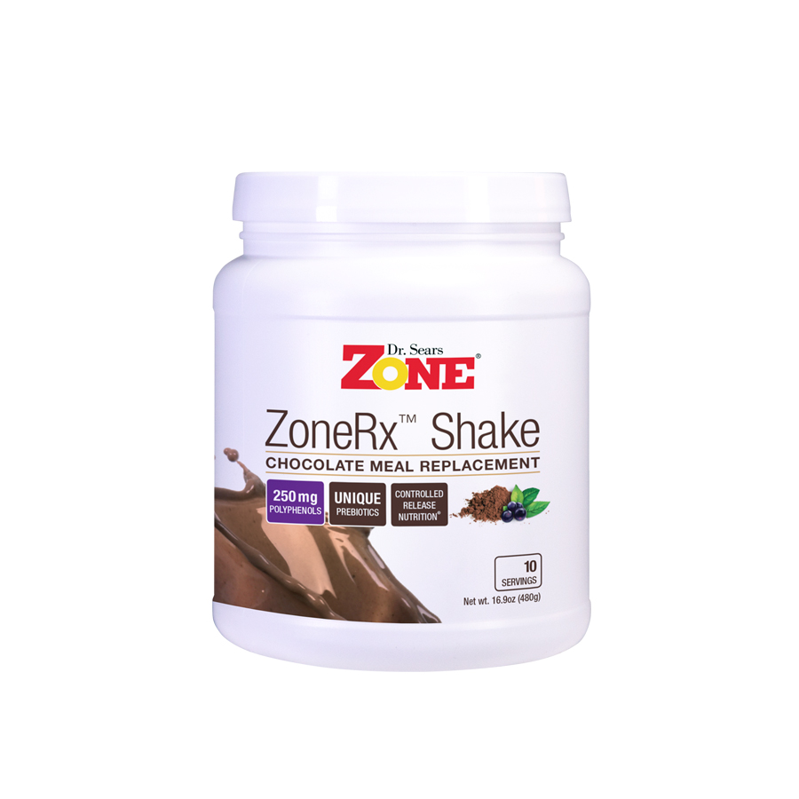 Zone Shakes Chocolate 10 Servings
