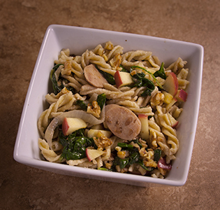Apple-walnut-pasta-chicken-sausage