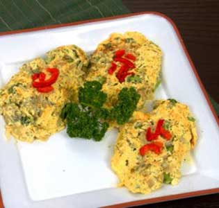 Zone Asparagus Frittata with Fruit