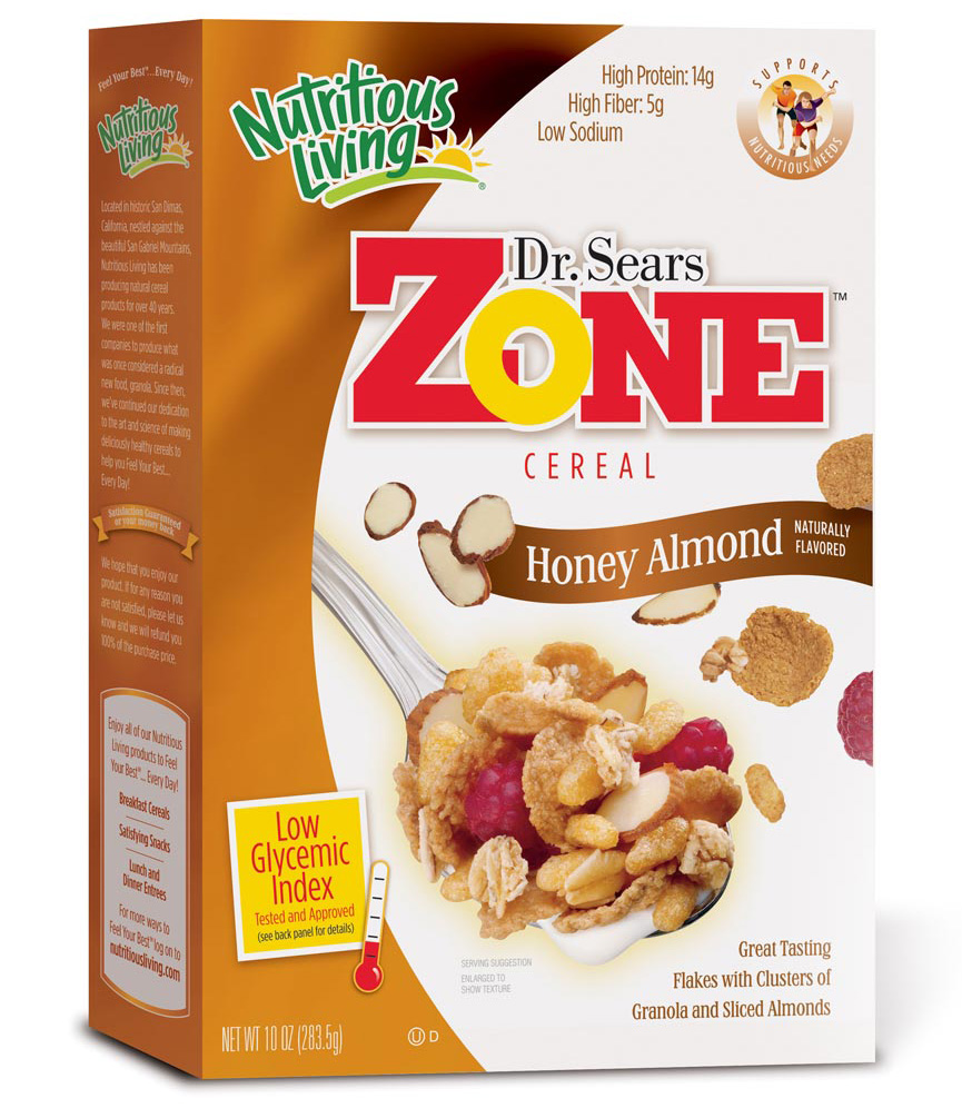 Dr. Sears Zone Honey Almond Breakfast Cereal