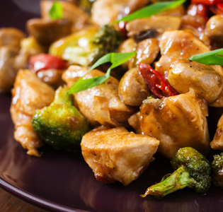Broccoli Ginger Chicken