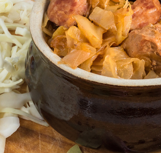 Chicken Chickpea and Squash Goulash