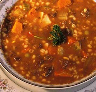 Zone Chicken Vegetable Barley Soup