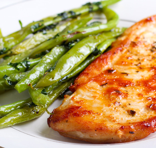 Disguised Chicken with Green Beans