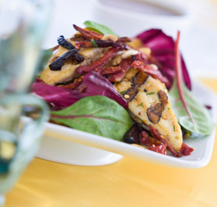 chicken-with-radicchio
