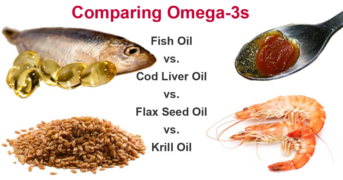 comparing omega 3 oils which are healthiest zone living. Black Bedroom Furniture Sets. Home Design Ideas