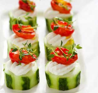 Zone Cucumber Cups