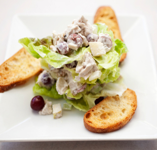 Curried Turkey Salad with Lentil and Feta | Zone Diet Recipe