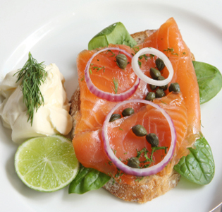 Dill Lime Salmon