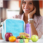 Zone Diet Food Blocks for Portion Control
