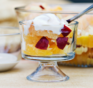 Fruit Salad with Maple Yogurt Sauce
