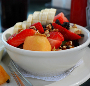 Fruity Breakfast Bowl