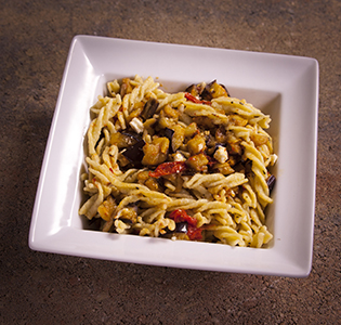 Fusilli with Roasted Vegetables