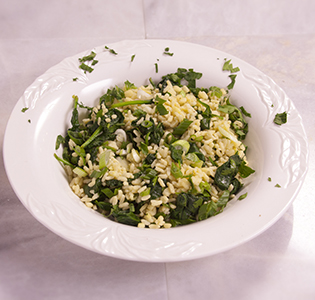 Green Orzo Salad