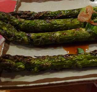 Zone Grilled Asparagus and Artichoke Salad