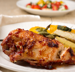 Grilled Chicken Breast with Relish