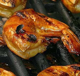 Zone Grilled Shrimp Salad