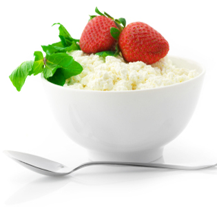 Herbed Cottage Cheese with Fruit