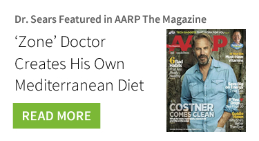 Dr. Sears Featured in AARP The Magazine - Mediterranean Diet