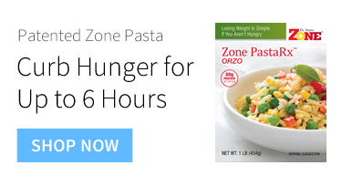 Patented Zone Pasta - Curb Hunger for up to 6 Hours