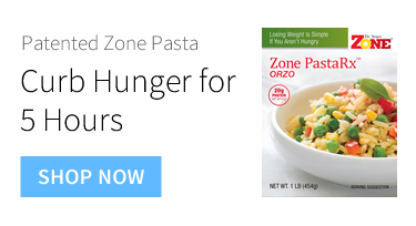 Curb Hunger for 5 Hours - Zone Pasta
