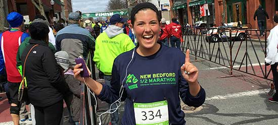 Kelly Fitzsimmons, Half Marathon in New Bedford, MA