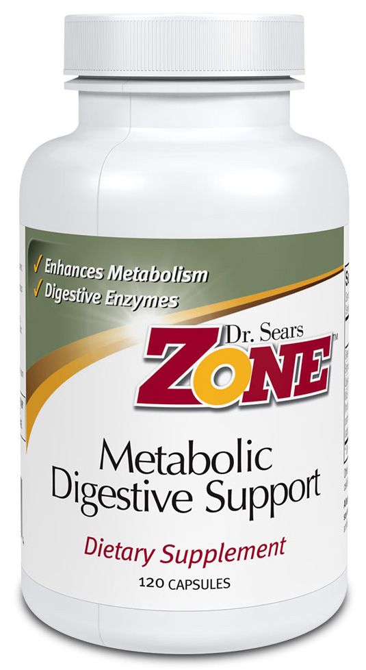 Dr. Sears' Zone™ Metabolic Digestive Support - 120 Caps