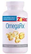 Dr. Sears' OmegaRx Fish Oil - 240 MicroCapsules - Front