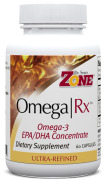 Dr. Sears' OmegaRx Fish Oil - 60 Capsules - Front
