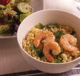 Zone Lemon Pepper Shrimp Scampi