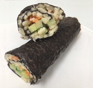 Zone Sushi Roll with Sauce