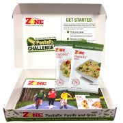 Zone PastaRx Challenge Sample Kit with Orzo and Fusilli