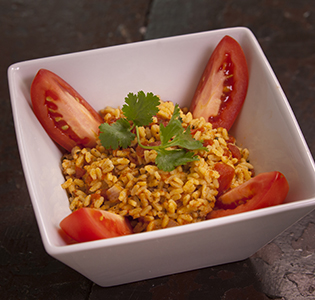 Orzo Rice with Tomatoes