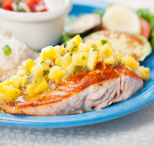 salmon-with-sweet-salsa