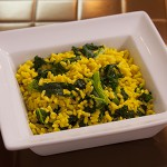 Spicy Kale Orzo