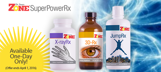 Dr. Sears Zone SuperPoweRx Supplements
