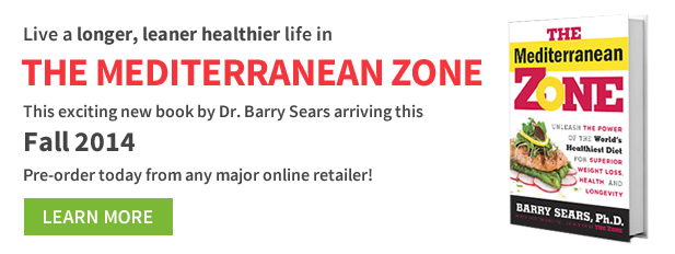 Pre-order The Mediterranean Zone book by Dr. Barry Sears
