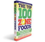 The Top 100 Zone Foods - Book