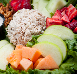 tuna-and-apple-salad