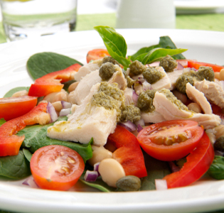 tuna-and-white-bean-salad-with-arugula