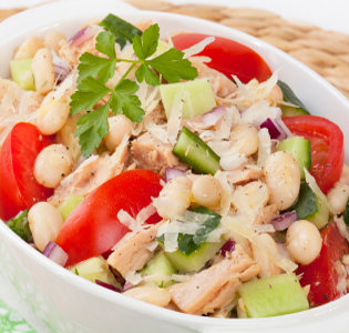 Zoned Tuna Salad