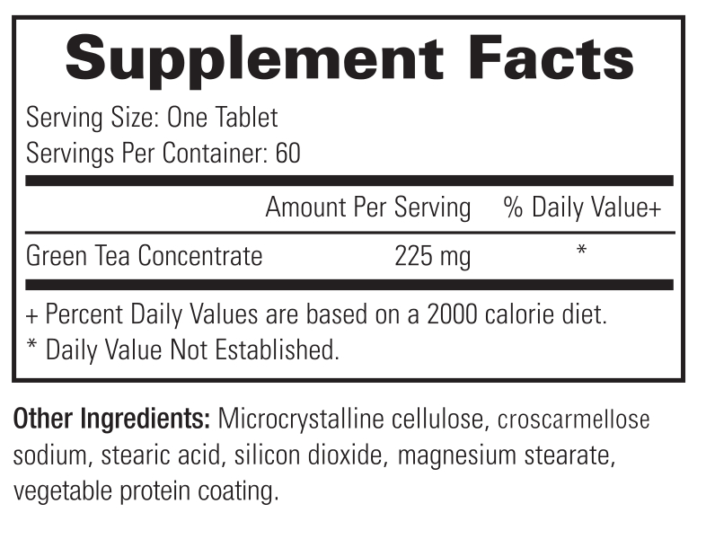 Dr. Sears' Weight Loss Support - 60 Capsules - Supplement Facts
